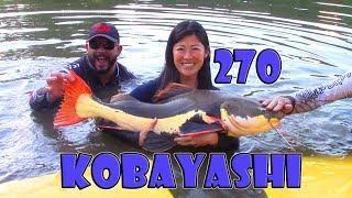 Programa Fishingtur na TV 270 - Pesqueiro Kobayashi