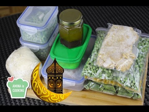 Video Ramadan Preparations From A to Z - Episode 100 - Amina is Cooking