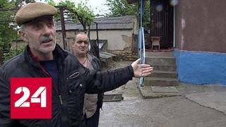 На Ставрополье сошел крупный оползень