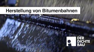 Herstellung von Bitumenbahnen