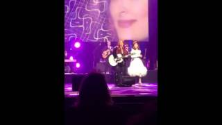 The Judds, girls night out, Las Vegas October 10, 2015