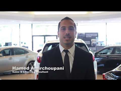 Sales Consultant Hamed Amirchoupani