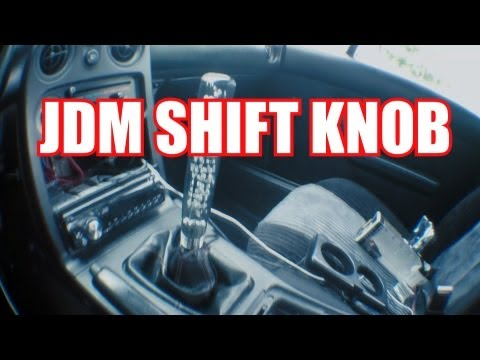 How To Install an Aftermarket Shift Knob / Haggard Garage /