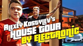Aleksey Kostylev's house tour by electronic