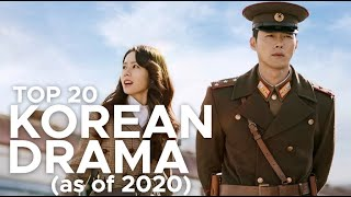 RANKING THE BEST KOREAN DRAMAS (AS OF 2020)