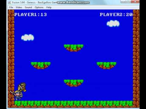 [Homebrew Megadrive] Sega Master System Brawl - version du 15/02/2014