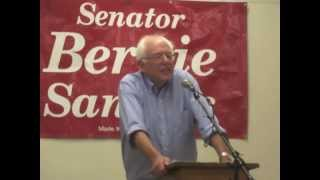 preview picture of video 'Bernie Sanders in Morrisville Final Q & A'