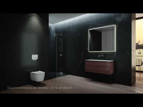 Geberit One wall-mounted WC Wash-down unit wall-hung, TurboFlush, with WC seat with soft-closing mechanism