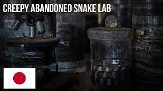 URBEX | Fand viele Schlangen in einem gruseligen Labor