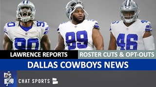 Cowboys News: DeMarcus Lawrence Playing, Antwaun Woods Signs, Roster Cuts & Players Opting-Out