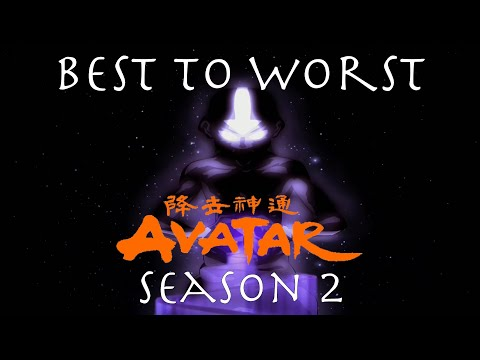Best to Worst The Last Airbender Season 2