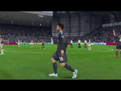 West Bromwich Albion Vs Chelsea English Premier League Fecha 12 FIFA 18