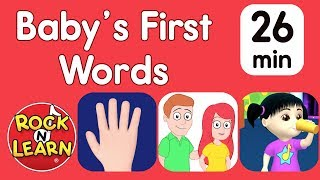 Baby's First Words - Body Parts, Family & More | When will my toddler speak?
