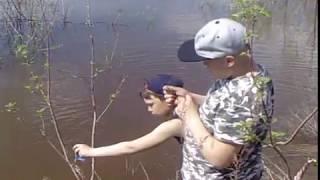Рыбалка в аркуле на вятке
