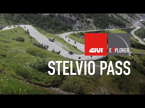The legendary Highway 38 from the Stelvio Pass and from The Stelvio International, one of the most important motorcycle gatherings in Europe, on board a fully equipped Yamaha MT-09.
