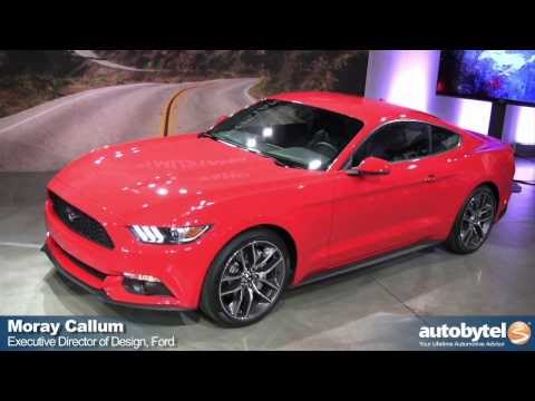 Video: 2015 Ford Mustang Walk Around With Ford