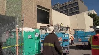 Raw Video: Fire At PG&E Substation In San Francisco