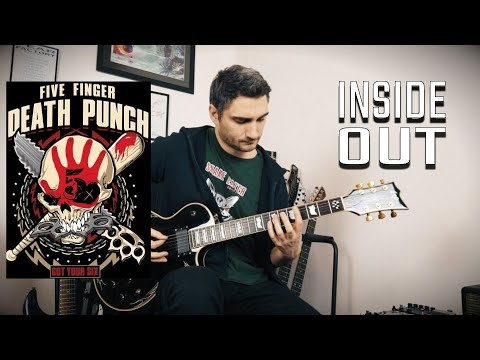 Five Finger Death Punch 'Inside Out' GUITAR COVER (NEW SONG 2019)
