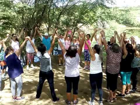 Bom dia ecológico da Academia de saúde - NASF BARRA DE SANTANA