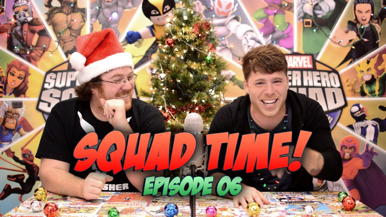 Annihilus, The Making of Squad Time, Holiday Contest