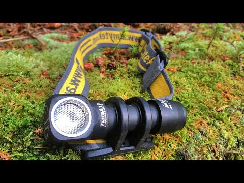 Headlamp Review: Armytek Tiara A1 Pro Warm with beamshots and runtime tests.