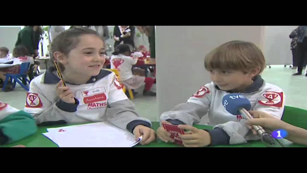 Maths Champions Aldeafuente en TVE