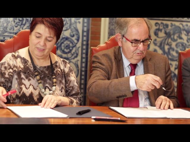 Firma del Convenio con el Ayuntamiento de Segovia