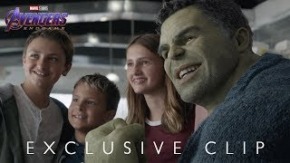 "VIDEO: Marvel's AVENGERS: ENDGAME – ""Hulk Out"" Exclusive Clip"