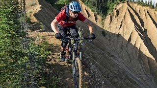 No Room For Error on this Alaskan Ridgeline MTB Trail | Backcountry Hut: Part 2
