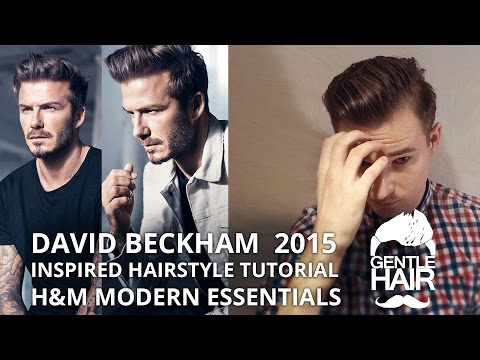 Download David Beckham Haircut And Style Mens Hairgp Mp - Beckham hairstyle 2015 tutorial
