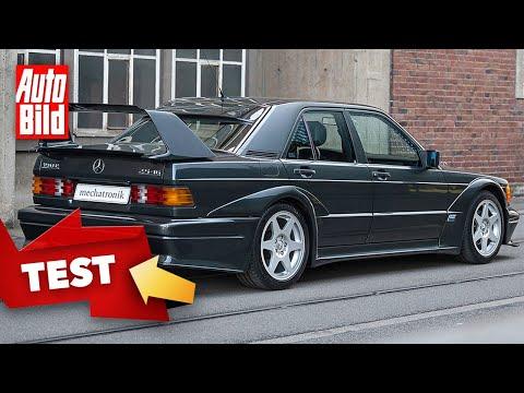 Mercedes 190 E 2.5-16 Evo 2 (1990) | Spritztour in einer Legende (W201) | Fahrt