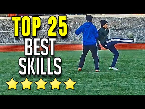 The 25 Most Amazing Football Tricks & Skills 2016