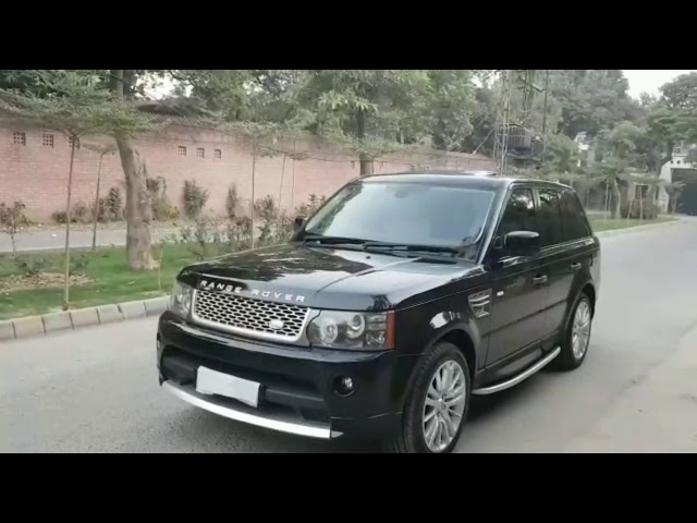 Range Rover Sport Supercharged 5.0 V8 2010 for Sale in Lahore