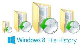 How to Backup Files in Windows 8:  File History