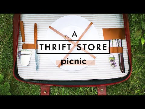 DIY PICNIC BASKET FROM THRIFT STORE ITEMS! Mp3