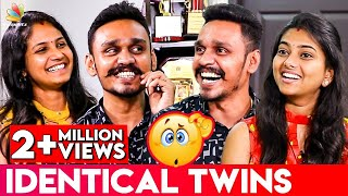 How We Differentiate between Our Husbands ? : Arun & Aravind Twins Interview | Casting Directors
