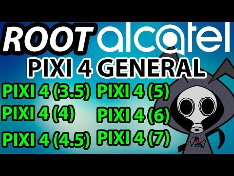Root General Alcatel Pixi 4 - Metodos por PC y Android - Thủ