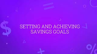 Budget Game Tutorial – Setting and Achieving Savings Goals