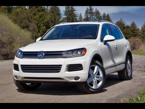 2014 Volkswagen Touareg Start Up and Review 3.0 L Diesel V6
