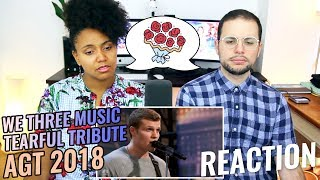 We Three Music: Sibling Trio TEARFUL Tribute To Their Late Mom | AGT 2018 | REACTION