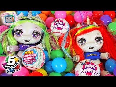 Video Poopsie Surprise Unicorn Find A Zuru 5 Surprise Mini Brands In