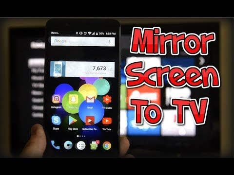 How to Mirror Your Screen To A TV - ZTE Blade Z MAX — Z