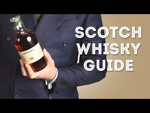 Scotch Whisky 101 Primer for Beginners – Gentleman's Gazette