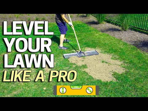Download How To Level Your Lawn Like A Pro Tool For Sand Soil Or