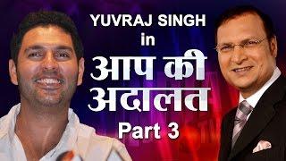 Yuvraj Singh in Aap Ki Adalat (Part 3) - India TV