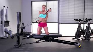 Chest Fly (Single Arm, Two Cables, Kneeling)