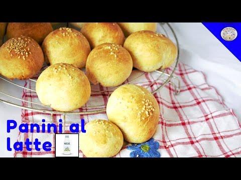 Panini al LATTE || Macchina per il pane || Una Fetta Di Paradiso