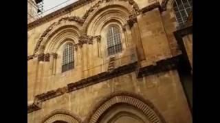 Kudüs'te anahtarını iki Müslüman ailenin koruduğu Kıyamet Kilisesi