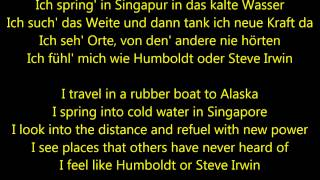 Au Revoir — Mark Forster Ft. Sido (English & German Lyrics)