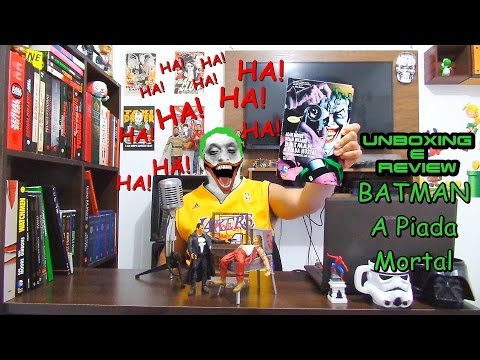 Unboxing e Review HQ  Batman A Piada Mortal (FULL HD)